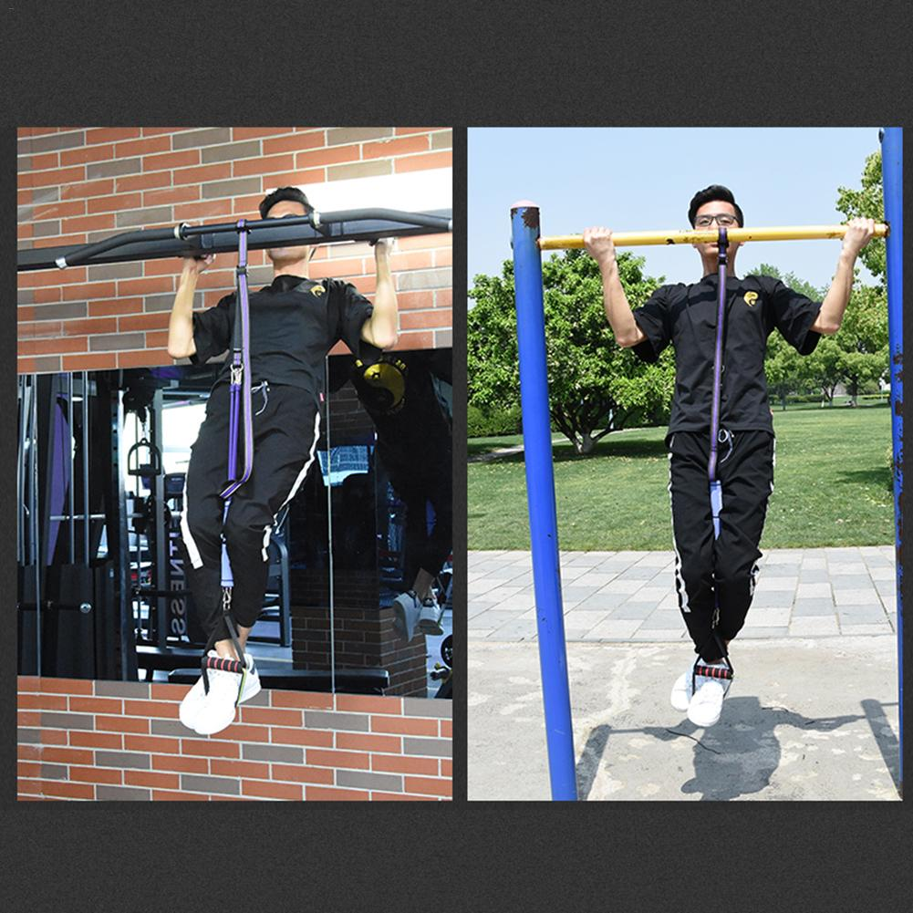 Fitness Sling Straps Hanging Belt Chin Up Sit Up Bar Pullup Assistant Belt Strap Heavy Duty Muscle Training Support Belt