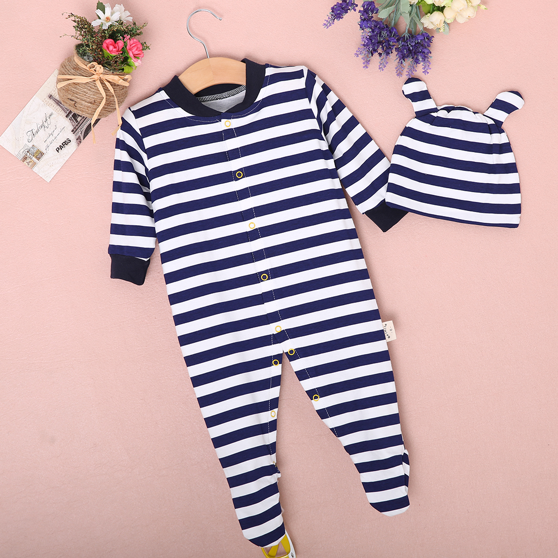 Newborn Baby Girls Kids Polo Rompers Cotton Outfits Hot ...