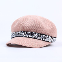 Spring Summer Accessories Female Hat Octagonal Caps Breathable Sun Hats For Girls Fashion Womens Baseball Cap Snapback