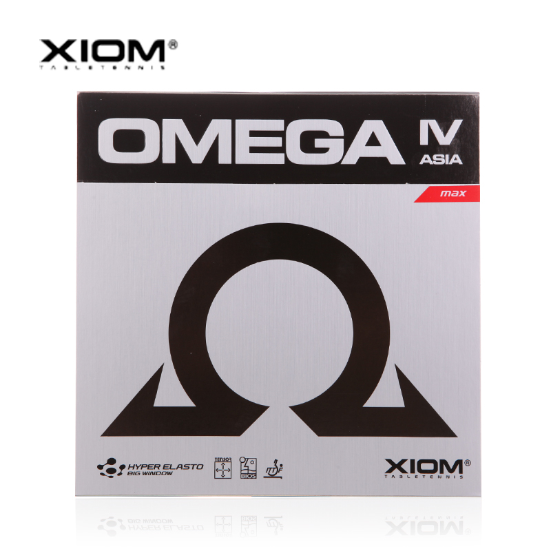 XIOM Original OMEGA 4 IV Asia Pimples In Table Tennis Rubber Pips-In Ping Pong Sponge Tenis De Mesa yinhe earth 4 e4 e 4 e 4 shakehand table tennis ping pong blade