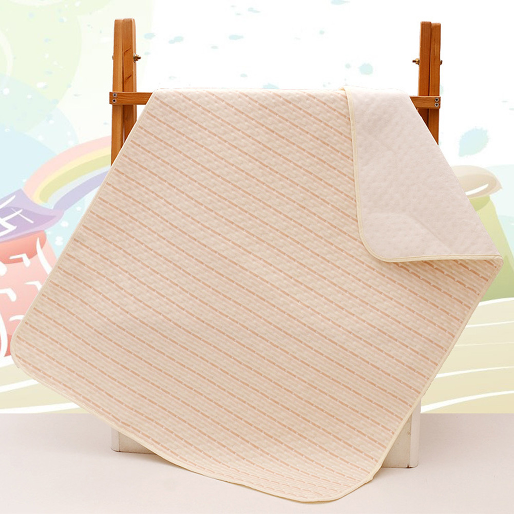 Cotton Waterproof Bed Sheet Incontinence Pad Mattress Protector for Toddler Adult Reusable Baby Kids Diapering Changing Mat 4