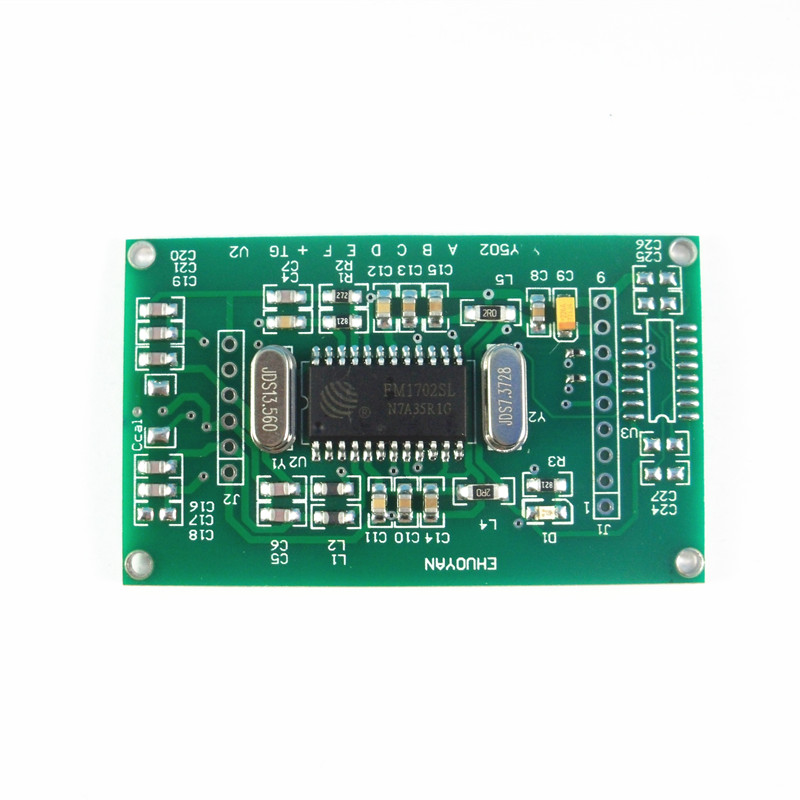 RFID Mi fare Reader Writer Module UART 3V-5V Tags read write coil antenna built in embedded range 6cm ISO14443A