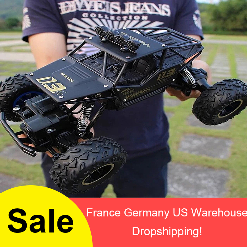 1:16 4WD <font><b>RC</b></font> <font><b>Car</b></font> Rock Crawlers Drive <font><b>Car</b></font> Double <font><b>Motors</b></font> Drive Bigfoot <font><b>Car</b></font> Remote Control <font><b>Car</b></font> Off road Vehicle Toy <font><b>Car</b></font> For Kid image