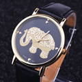 New Women Leather Bracelet Watches Fashion Casual Elephant Wrist Watches Relojes Mujer Relogio Feminino Clock