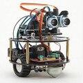 Suite de aprendizaje coche inteligente robot tortuga inteligente de control inalámbrico con base Para ARDUINO