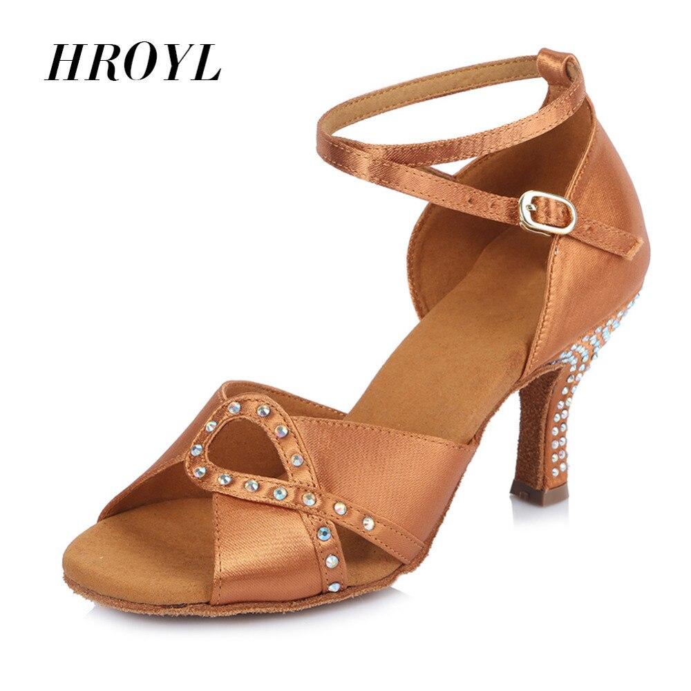 Womens Girl s Ladies Ballroom Latin Tango Party Dance Shoes Hot Sale high quality Brand New 6.5cm heel Free Shipping