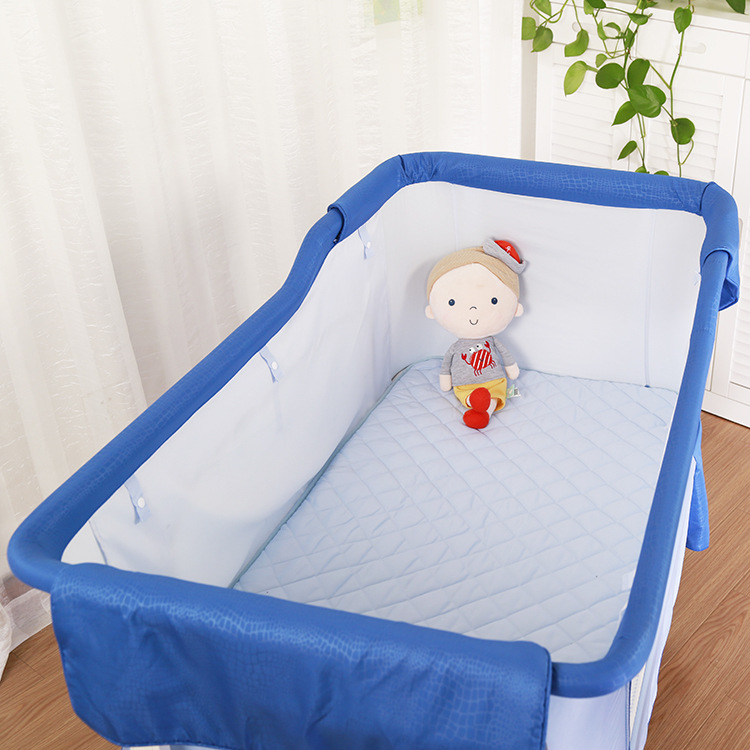Многофункциональный ребенка Колыбели новорожденных детская кроватка детская Портативный складной детской кроватки шейкер кровать 2 в 1 по...