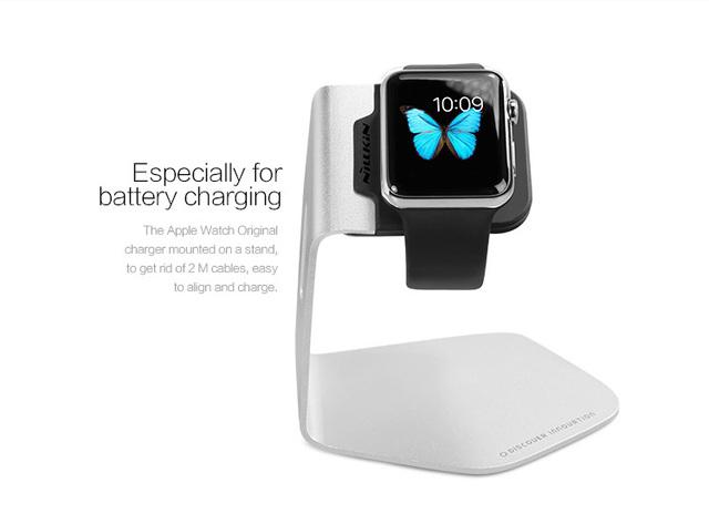 Nillkin forma c carregador usb charger stand titular para a apple watch frete grátis titular