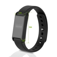 Bluetooth four.zero Watch Distance/Pedometer /Calorie Well being File Wristband for IOS /Android Good Telephone