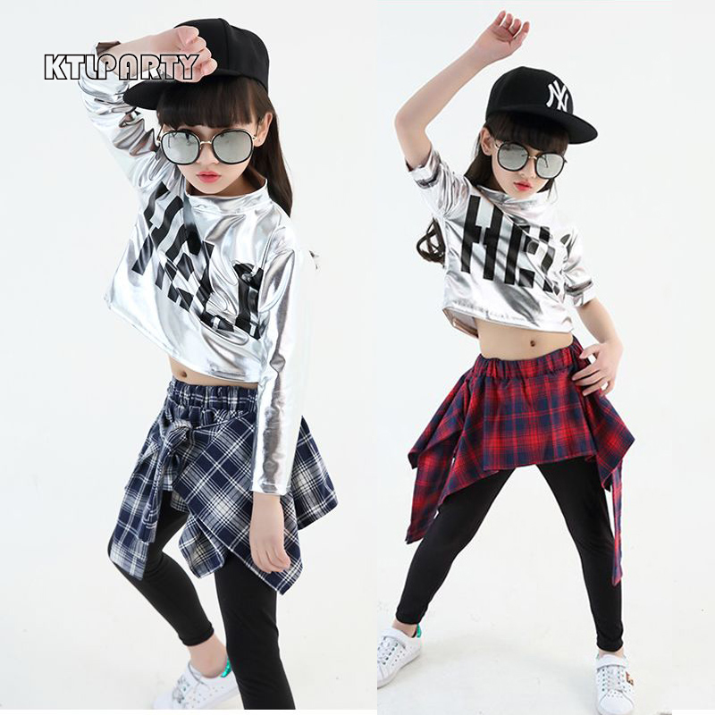 Bien-aimé KTLPARTY children girl boy hip hop jazz costume modern ballroom  NQ31