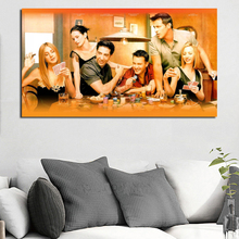 Friends TV Series Poster Canvas Posters Prints Wall Art Painting Oil Decorative Picture Kitchen Modern Home Decoration Artwork
