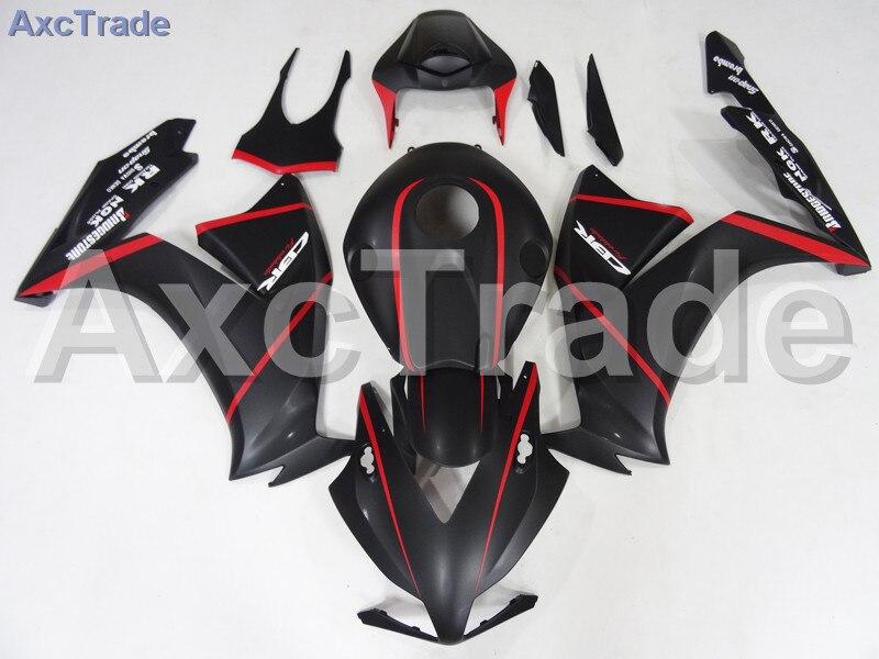 Мотоцикл Обтекатели для Honda CBR1000 CBR1000RR ЦБ РФ 1000 2012-2014 12 13 14 ABS пластичная впрыска Обтекателя кузова комплект красный черный