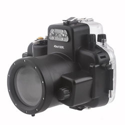 Meikon 40M Waterproof Underwater Camera Housing Case Bag for Nikon D7000 Camera