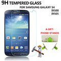 1PCS Screen Protector Tempered Glass for Samsung Galaxy S4 i9500 i9505 9H 0.33mm 2.5D Anti Fingerprint Protective Film