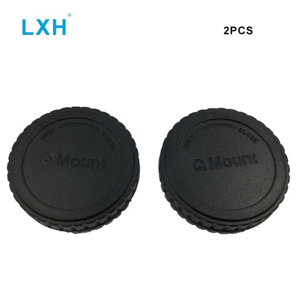 Corpo E Posteriore Tappo Set Per Pentax Q macchine fotografiche e lenti