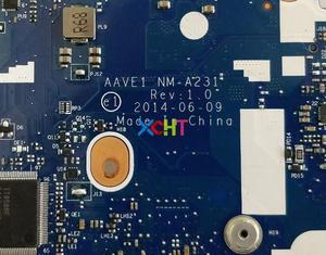 Image 5 - Para Lenovo ThinkPad E455 FRU: 04X4989 AAVE1 NM A231 w A10 7300 CPU w 216 0856030 GPU PC portátil placa base