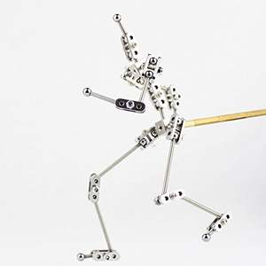 CINESPARK SCA-16 16CM DIY not-Ready-made stainless steel human figure for studio animation armature puppet character