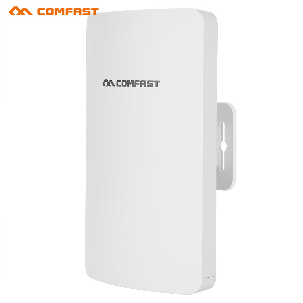 COMFAST CF-E110N 300M Outdoor Wireless WiFi Bridge AP High Power CPE Router POE Adapter Wide Voltage US Plug