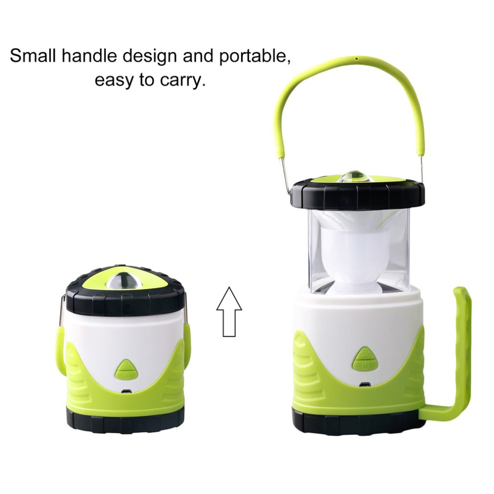 Unique Design Portable LED Ultra Bright Lighting Flashlight Camping Hiking Lantern Waterproof Outdoor Rechargeable Lamp Gift