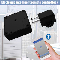 Electronic Bluetooth Smart Invisible Cabinet Lock Door Drawer Auto Safety Secure Tool LCC77