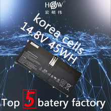 Genuine 14.8V 45Wh HD04XL Battery For Hp Envy Spectre Xt 13-2021tu 13-2000eg 13-2120tu 685866-1b1 685866-17 batteria akku