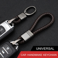 1Pc New Silver Metal Car Key Ring Keychain Fit For BMW Volkswagen VW Golf 4 5