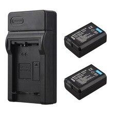 2×1500 мАч NP-FW50 NP FW50 NPFW50 Батарея + USB Зарядное устройство для Sony Alpha 7 A7 7R a7R 7 S a7S A3000 A5000 a6000 NEX-5N 5C A55