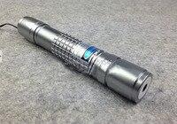 Yüksek Güç 405nm Mor-mavi menekşe Lazer Pointer 2000 m SOS LAZER Yanan siyah maç/sigara Uv sahte dedektör, Ücretsiz s