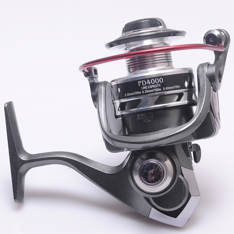 free delivery Hynix Fishing Reels 12+1BB Ball Bearings Left Right Hand Interchangeable Spinning Reel 1000-7000 5.2:1 Fishing free shipping by ems fishing reels baitcasting reel daiwa megaforce ths gear ratio 7 3 1 six ball bearings right