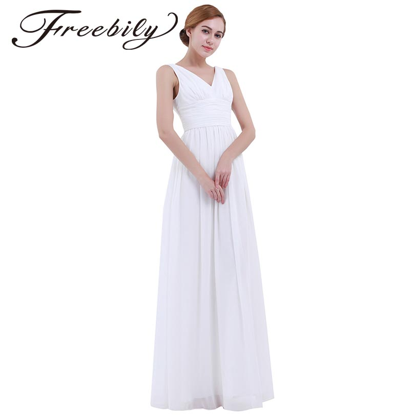 2018 Summer Fashion Women White Long Maxi Dress Vestido De F