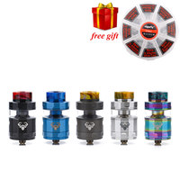 Free Gift GeekVape Blitzen RTA 5ML Version Geekvape Rta Postless Build Deck Smooth Airflow For Geekvape