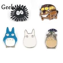 Cartoon Cute cat Animal Hard Enamel Brooches Pins For Women Men Shirt Hat Clothes Backpack Decor Lapel Badge Jewelry J0452