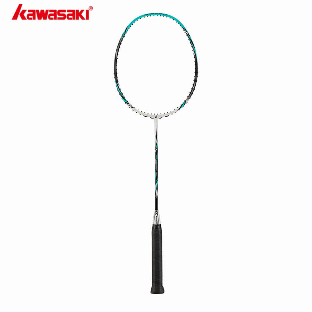 Kawasaki Badminton Rackets Carbon Fiber Ball Control Type Structure Racquet For Junior Plyers Explore X260