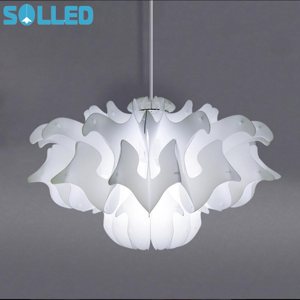 SOLLED Household Plastic Lampshade Art Deco For Living Room Dining Room Bedroom Pathway