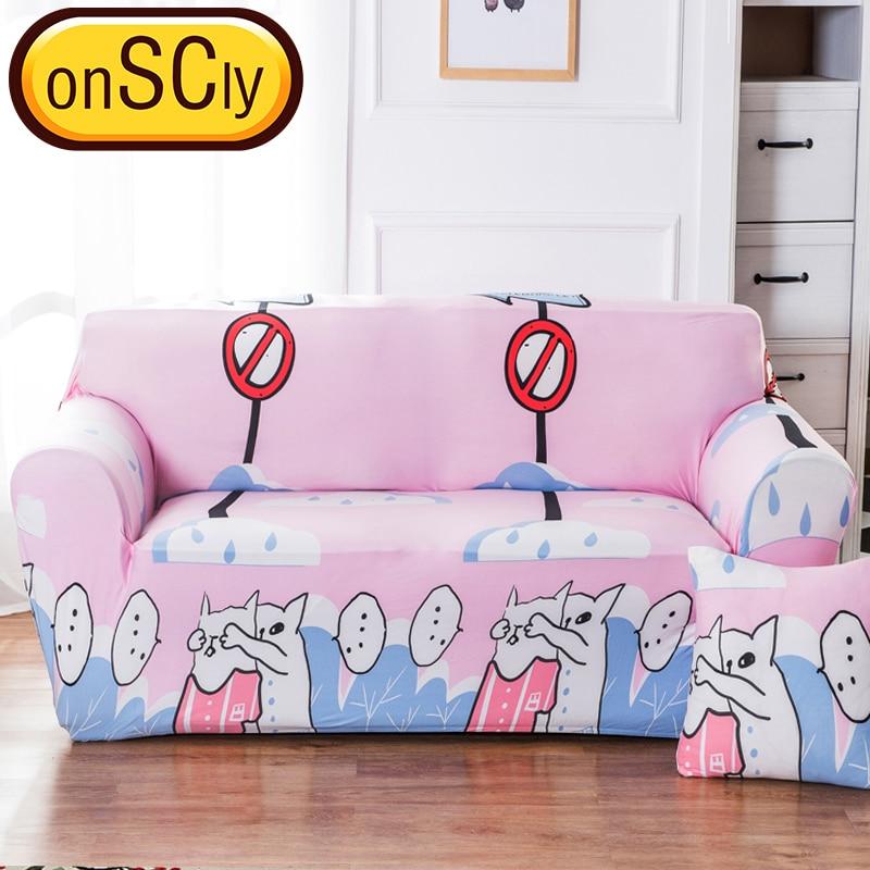 Couple Cats Protector Sofa Cover Sofa Slipcover Furniture