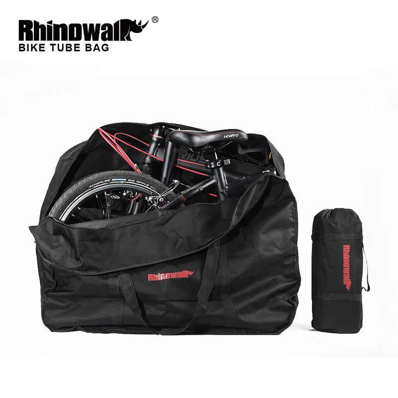 Rhinowalk новая складная сумка для велосипеда загрузка автомобиля сумка-чехол для переноски упакован портативный велосипедный пакет 14 дюймов 16 дюймов 20 дюймов
