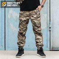 2017 nueva IX12 Impermeable Juego de Guerra de camuflaje pantalones tácticos pantalones Cargo para hombre Pantalones pantalones Ejército militar Pantalones Activos