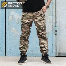 IX12 Pantalones tácticos de camuflaje para hombre, ropa de guerra, resistente al agua, mallas tobilleras activas militares