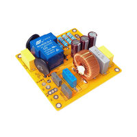 220V Power Amplifier Voltage Buffer Soft Start Board with FIlter