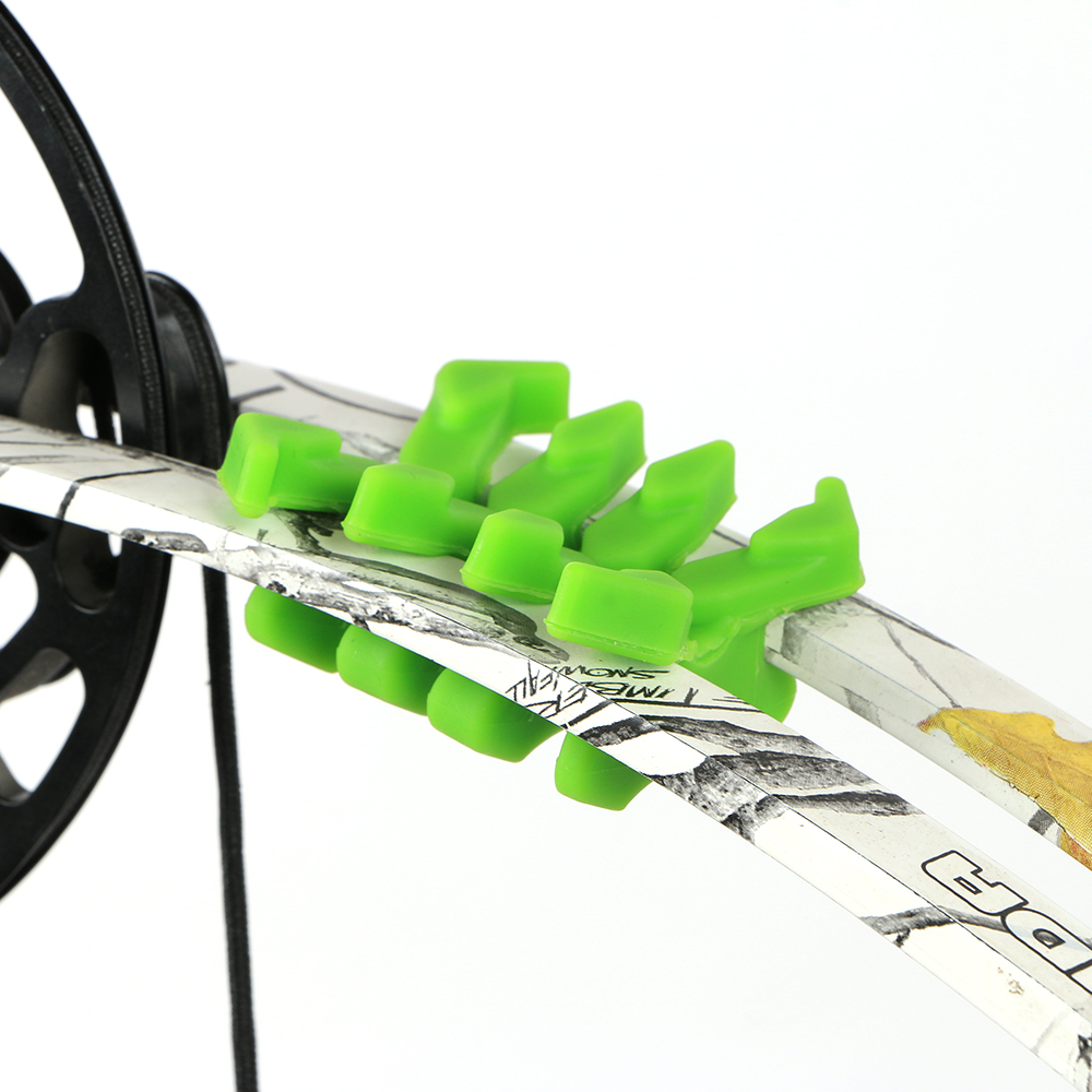 Archery Bow Limb Dampener Bow Stabilizer 1 Pair Bow Limbs Vibration Dampeners