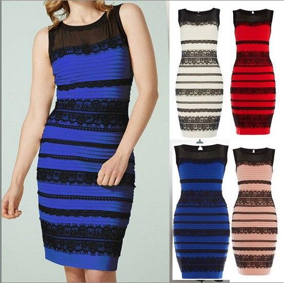 Royal blue lace dress detail bodycon