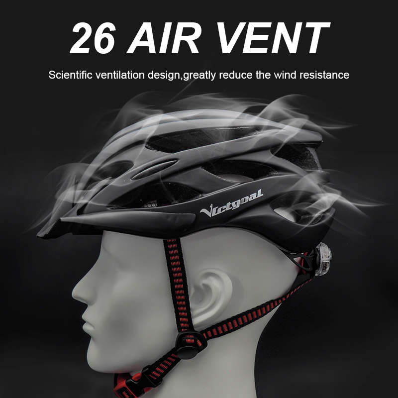 Bicycle Helmets Matte, Black, Men Women  Back Light MTB Integrally Molded 2