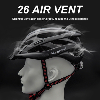 Bicycle Helmets Matte, Black, Men Women  Back Light MTB Integrally Molded 7