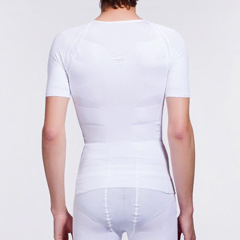 Neoprene Elastic Mens Body Back Waist Slimming Vest Men Tummy Slimming Corset Fat Burning Weight Loss Slimming Health Products