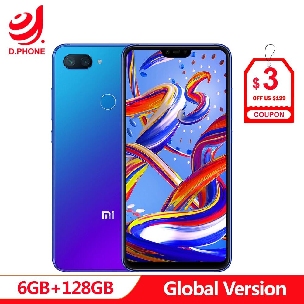 Em Estoque Global Versão Xiao mi mi 8 8 Lite Lite 6 GB 128 GB mi Snapdragon 660 AIE 6.26