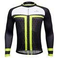 Männer Polyester Atmungsaktive Langarm Schwarz Radfahren Kleidung Pro Hombre Ciclismo Ropa-in Rad-Trikots aus Sport und Unterhaltung bei