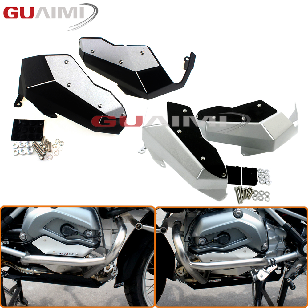 Aluminum Cylinder Head Guards Cover for BMW R1200GS Water Cooled 2014-2017 R1200 GS ADV 2014 2015 2016 2017 цена