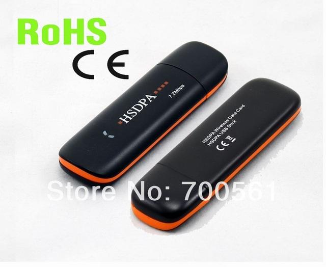 Envío gratis! HSPA modem EF550D 7.2 Mbps usb 3 g modem soporte Android tablet