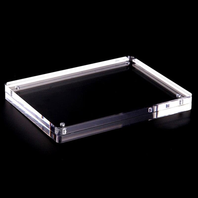 Acryl Magnet Bilderrahmen Schlafzimmer Dekor Vier Ecken Arc Design ...