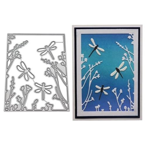 Dragonfly Metal Cutting Dies Stencil DIY Scrapbooking Album Stamp Paper Card Embossing Crafts Decor Crafts